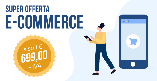 banner ecommerce in offerta